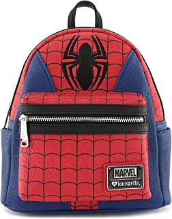 Marvel Spider-Man Faux Leather Mini Backpack Standard