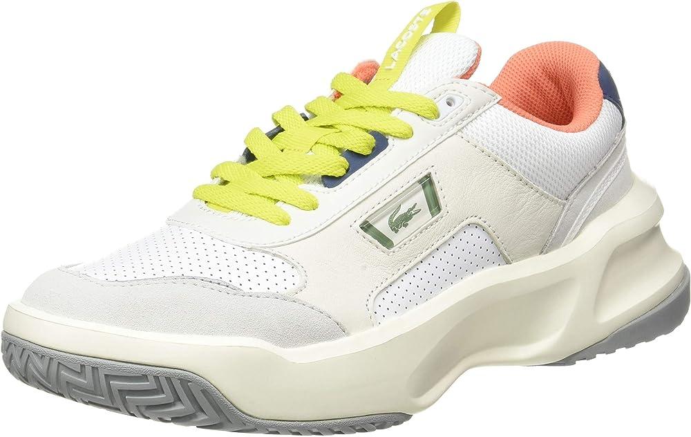 Lacoste ace lift scarpe sneakers da uomo in pelle 40SMA0019