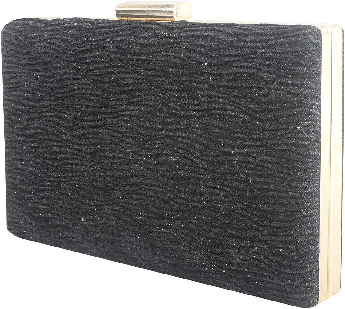 LETODE Sparkling Clutch Purse Elegant Evening Bling Glitter unisex Max 57% OFF Bags