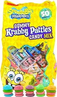 spongebob krabby patty candy