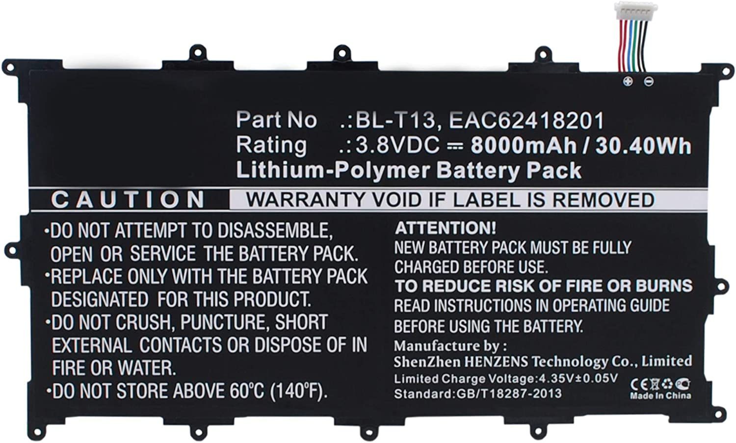 Synergy Digital Ranking TOP7 Tablet Battery LG with Max 41% OFF Works EAC62418201