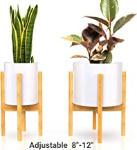 Mid Century Plant Stand – Non-Wobbly – Modern Indoor Plant Holder for House..