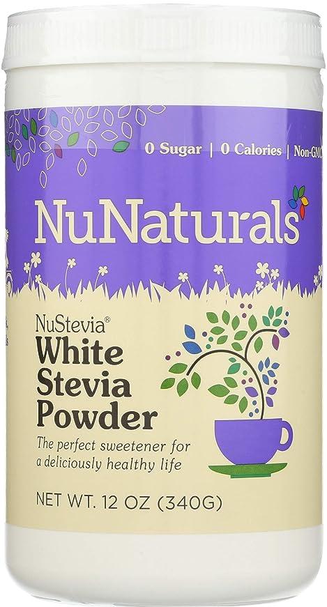 悪党無効該当するNuNaturals - NuSteviaの白いSteviaの粉 - 12ポンド