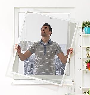 comprar comparacion Ventana mosquitera Basic 120 x 140 cm Culex, Color, 100010301-VH