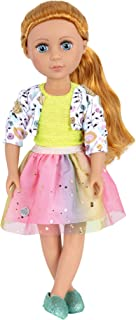 """Glitter Girls by Battat - Shimmer Glimmer Urban Top & Tutu Regular Outfit - 14"""" Doll Clothes & Accessories For Girls Age 3..."""