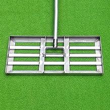 Yongqin Golf Gazon Leveling Rake Beroep Golf Tuin Gras, Gazon Leveling Rake-Ground Plate Flat Sand Gras Crusher,Groen Gazo...