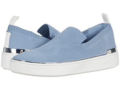 MICHAEL Michael Kors Skyler Slip-On (Pale Blue) Women