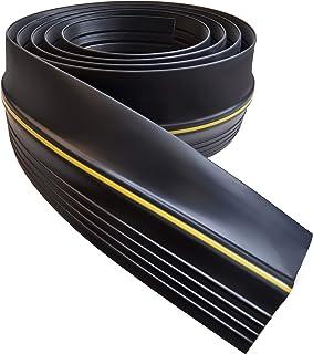 Universal 20ft Garage Door Seal Bottom Threshold Seal, DIY Rubber Weather Stripping..