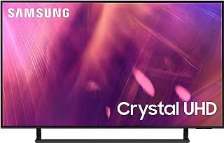 Samsung 43 Inches AU9000 Crystal UHD 4K Flat Smart TV (2021), Black, UA43AU9000UXZN