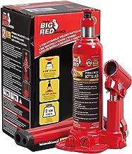 BIG RED T90203B Torin Hydraulic Welded Bottle Jack, 2 Ton (4,000 lb) Capacity