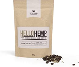 Australia's First Organic Hemp Coffee | Full Of Protein | Healthy, Rich & Smooth | Less Bitter Than Traditional Coffee