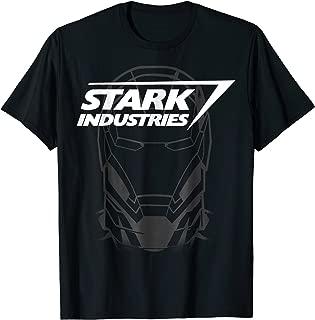 Avengers Iron Man Stark Industries Graphic T-Shirt