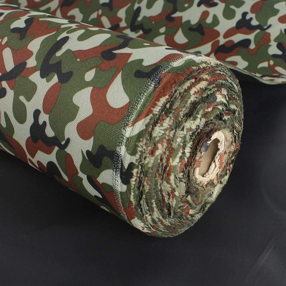 Waterproof Canvas Fabric Limited Regular store Special Price Camouflage Oxford Outdoor for Polyester