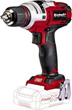 Einhell TE-CD 18 Li E - solo drill Negro, Rojo 1400 RPM 1,14 kg - Taladro eléctrico (1400 RPM, 47 Nm, 47 Nm, 2,5 m/s², 400 RPM, 1400 RPM)