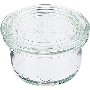 WECK ガラス 保存容器 キャニスター MOLD SHAPE 50ml WE-755