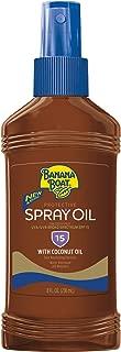 Best banana boat tanning oil spf 15 Reviews