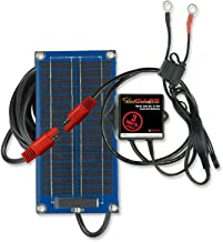 PulseTech SolarPulse SP-3 Solar Battery Charger Maintainer, 3 Watt, Blue