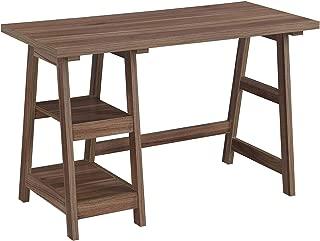 Convenience Concepts Designs2Go Trestle Desk, Cappuccino