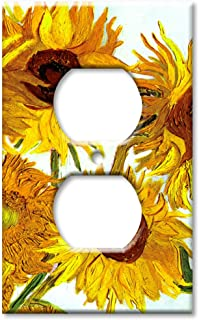 Art Plates - Van Gogh: Sunflowers Switch Plate - Outlet Cover
