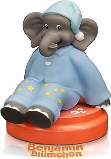 Aroosa Benjamin Veilleuse LED – Jolie veilleuse pour bébé et enfant avec capteur tactile & minuteur – Éléphant idéal comme...