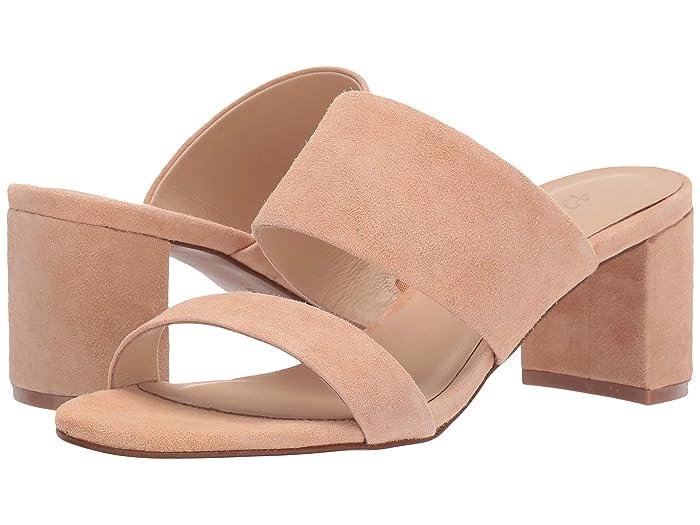 42 GOLD  Liya (Sand Suede) Womens Sandals