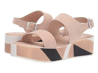 Matisse Geo Platform Sandal (Blush) Women