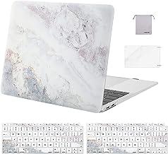 MOSISO Funda Dura Compatible con MacBook Air 13 2020 2019 2018 A2337 M1 A2179 A1932,Plástico Carcasa Rígida& Cubierta para...