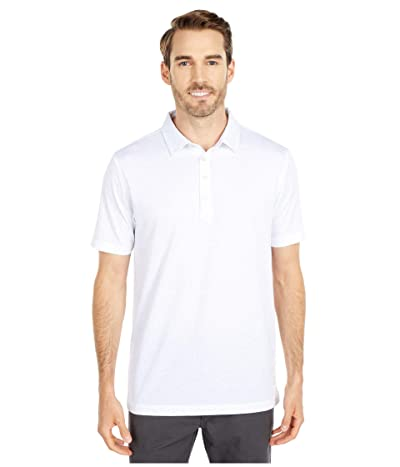 Linksoul LS1278 Dry-TEK Stretch Cotton Blend Polo (White) Men