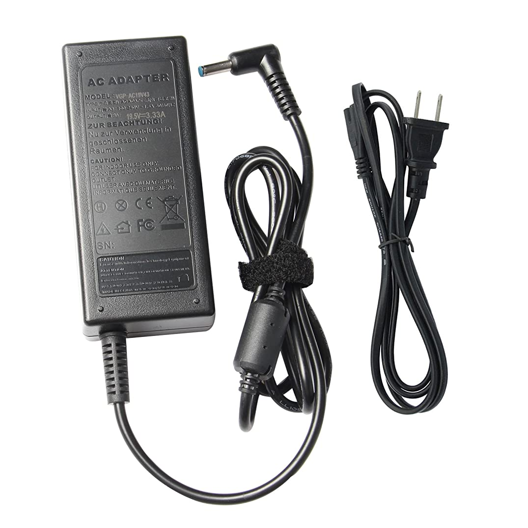 AC Adapter Charger Power Supply Cord fit HP Chromebook 11 G3 14 G3 TPN-Q151 11-2101tu 11-2110nr TPN-Q152 14-x010ca 14-x010wm 14-x013dx 14-x015wm 14-x030nr 14-x010nr 14-x050n r14-x040nr 14-q000ea etc.