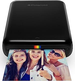 Polaroid Zip - Impresora móvil Bluetooth Nfc micro USB tecnología Zink Zero Ink 5 x 7.6 cm compatible con iOS y Android negro 2.2 x 7.4 x 12 cm