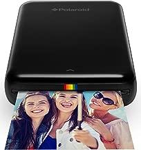 Polaroid ZIP Wireless Mobile Photo Mini Printer (Black) Compatible w/ iOS & Android, NFC & Bluetooth Devices