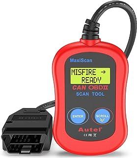 Autel MS300 Car Diagnostic fault code reader tool OBDII Scan Scanner-Red