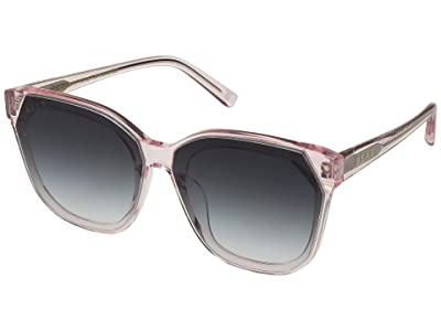 DIFF Eyewear Gia (Rose Crystal/Grey) Fashion Sunglasses