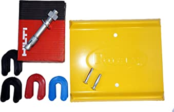 Auto - Car Lift Installation Kit With Anchor Bolts, Shims, and Spotting Dish