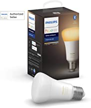 Philips Hue UAE Ambiance LED Smart Bulb, Bluetooth & Zigbee compatible ( Hue Bridge Optional ), Works with Alexa & Google ...