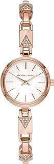 Michael Kors Jaryn Mercer Women's White Dial Stainless Steel Analog Watch - MK4440