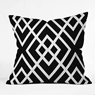 """Deny Designs Three of The Possessed Modern Bloom Indoor Throw Pillow, 16"""" x 16"""" 26"""" x 26"""" 50014 - othrp26"""