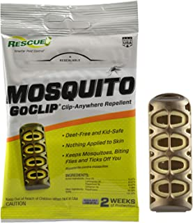 RESCUE MGC-DB12 Mosquito Wearable Repellent