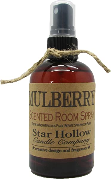 Star Hollow Candle Co Mulberry Room Spray 4 Oz Brown