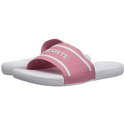 Lacoste Kids L.30 118 2 (Little Kid) (Pink/White) Girl