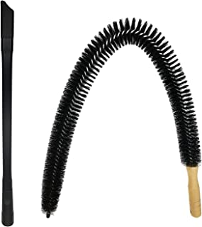 Dryer Vent Cleaner Kit - 30 inch Flexible Dryer Lint Brush for Cleaning Dryer, 24
