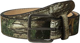 RealTree Camo Men's Camouflage Belt/Leather Lining