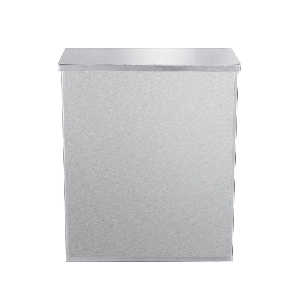 リスナー休眠内陸Dependable Direct Sanitary Napkin Disposal?–?304グレードのステンレススチール?–?2ガロン容量 1 Unit
