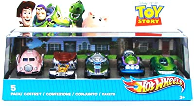 ETEPON Hot Wheels Toy Story 5 Car Pack - Styles May Vary