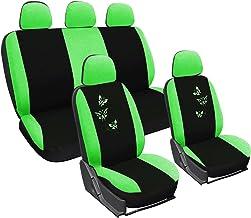 Verde Sakura SS5294 Juego completo de fundas para asiento de coche