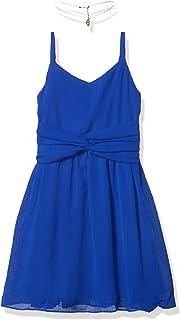 فستان Amy Byer للفتيات بتصميم ملتف من الأمام