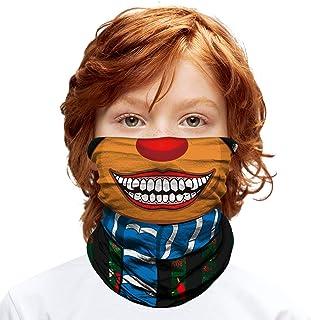 ShopINess Pañuelo Braga Multifunción para Niños (Entre 6 y 14 años) - Reno