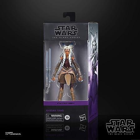 Hasbro Star Wars E9455 The Black Series Ahsoka Tano 15 cm große Star Wars Rebels Action Figur zum Sammeln, Spielzeug für Kids ab 4 Jahren