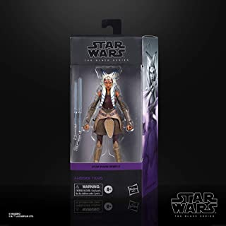 Star Wars The Black Series Ahsoka Tano Toy 6-Inch-Scale Star Wars Rebels Collectible Action Figure, Toys for Kids Ages 4 a...