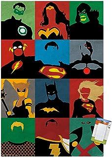 Superhero Minimalist Poster Superhero Print Comics Art Wall Decor Atlantis Poster Superhero decor Comics Fans Home Decor